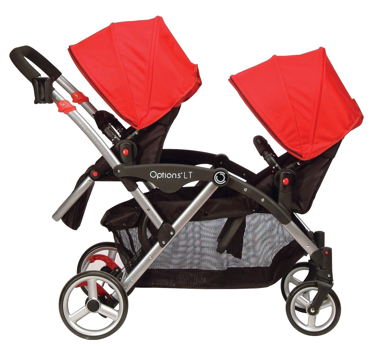 Amazon Contours Options LT Tandem Stroller Crimson Red Discontinued by Manufacturer Kolcraft Lt Baby
