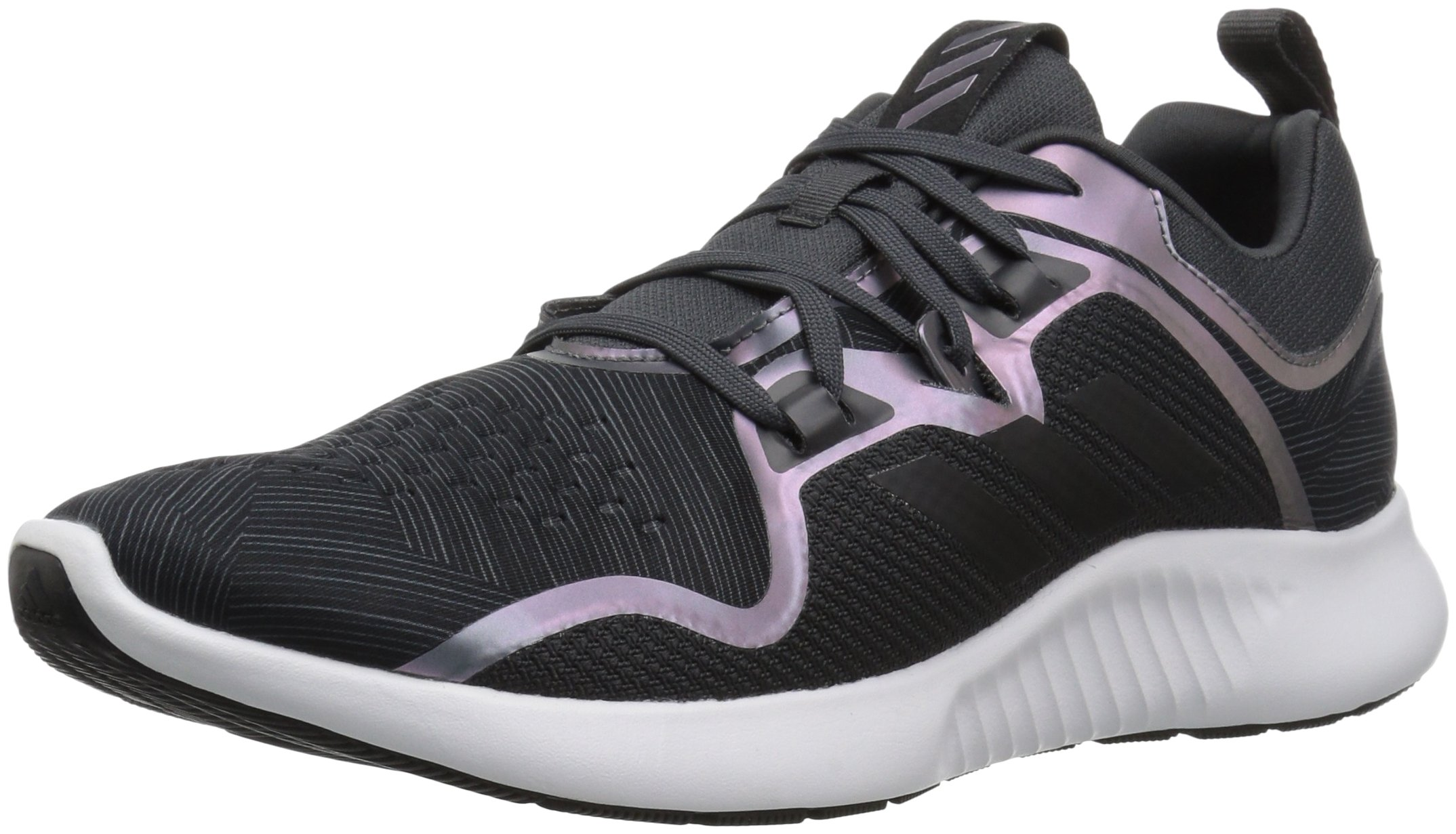 adidas Women's EdgeBounce Running Shoe Carbon/Black/Night Metallic 5.5 M US by adidas (Image #1)
