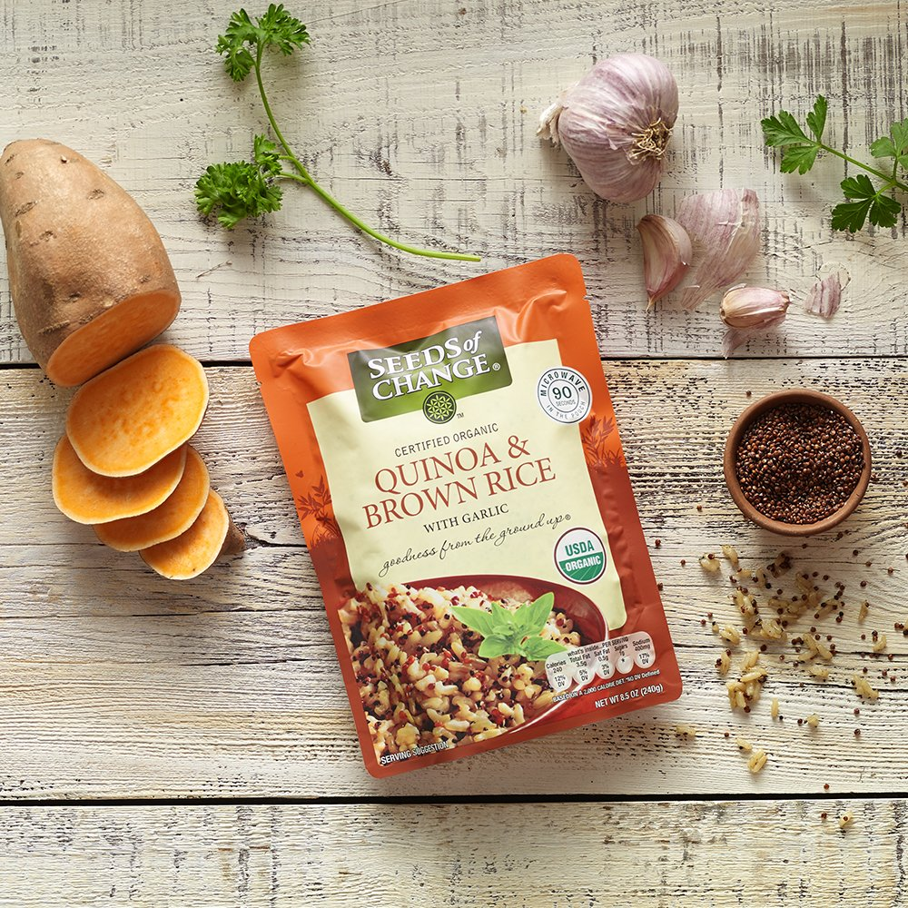 SEEDS OF CHANGE Organic Quinoa & Brown Rice 8.5 Ounce