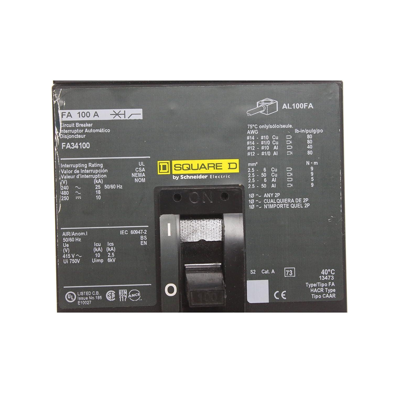 Leitungsschutzschalter 3p 100 A 480 VAC/250VDC: Amazon.de: Alle Produkte