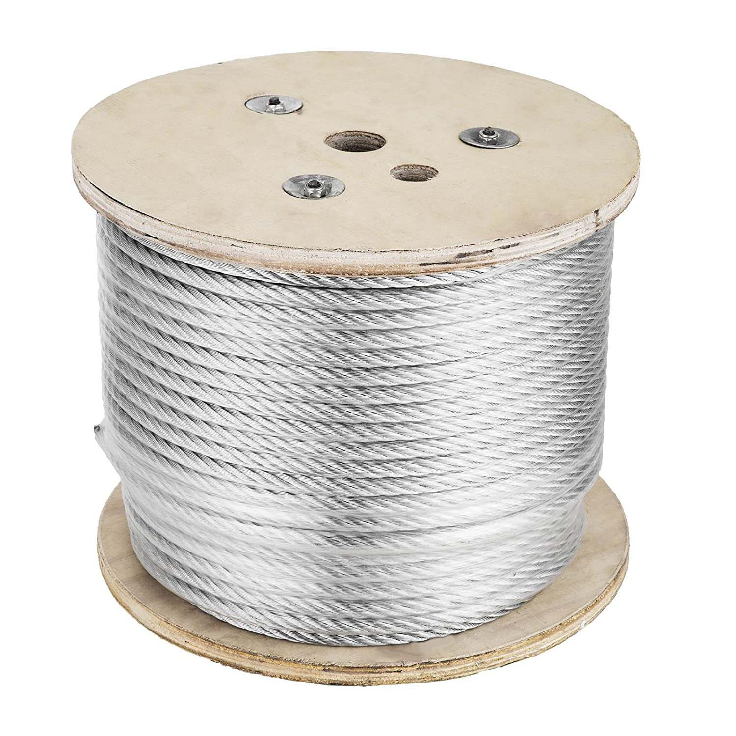 VEVOR Galvanized Aircraft Cable Reel 3/8\