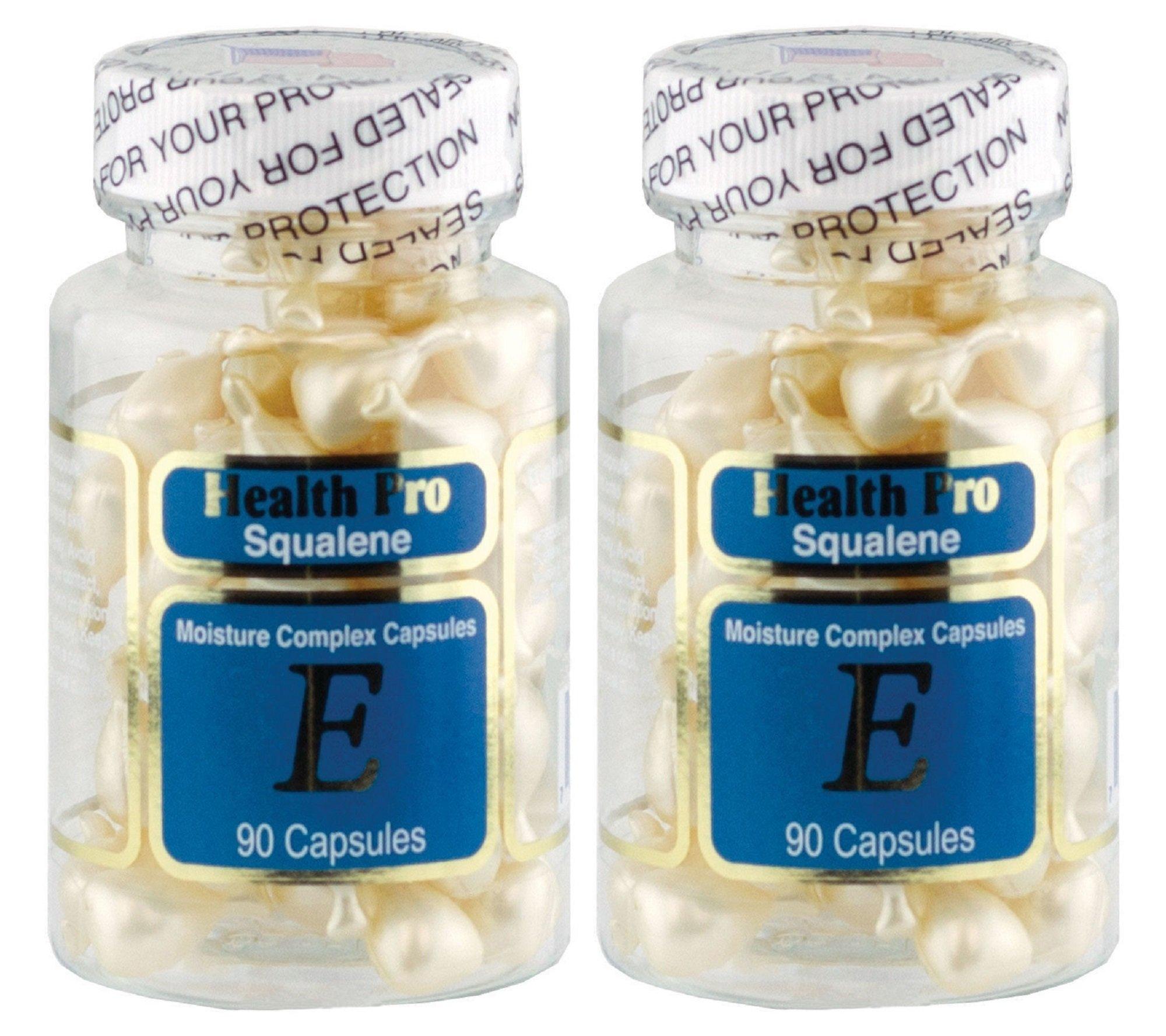 2 packs Squalene Moisture Complex (90 Capsules)