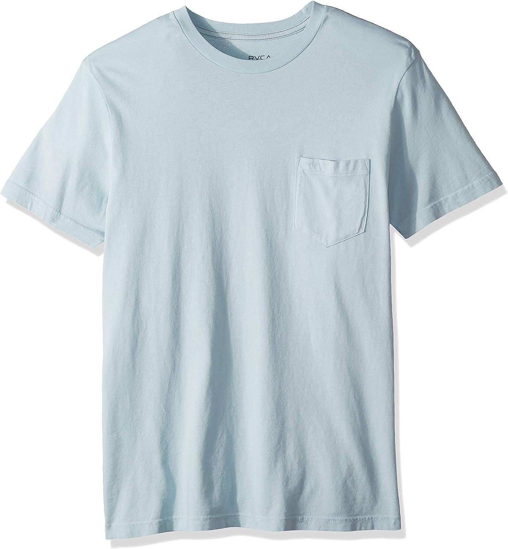 RVCA Hombre M437TRPT Manga Corta Camiseta: Amazon.es: Ropa y accesorios
