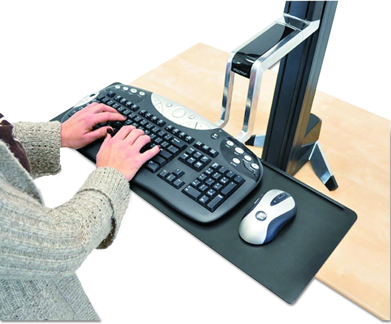 Ergotron WorkFit-S Support pour TV/Ordinateur Portable/Tablette/Ecran PC Noir