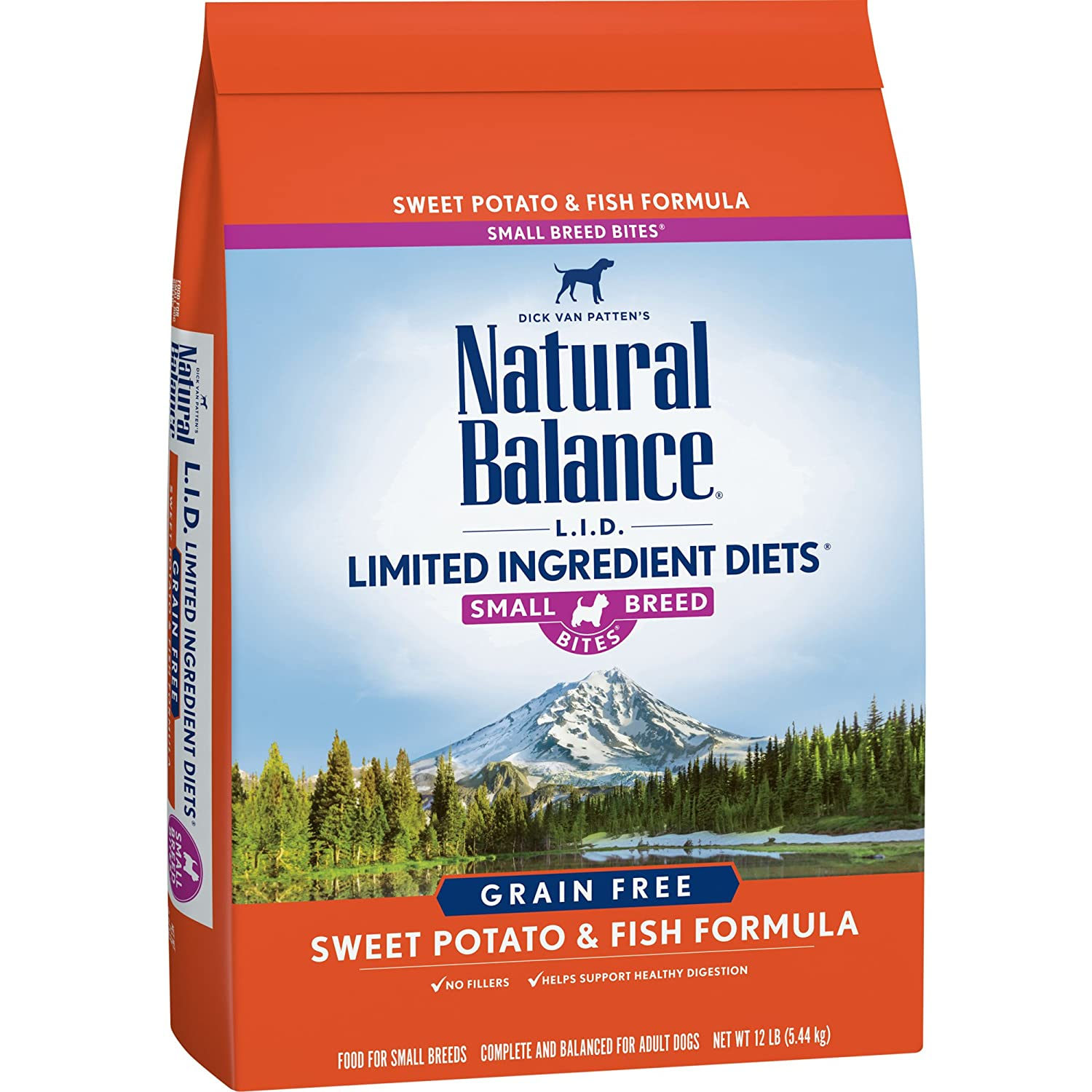 Natural Balance Dog Food Sweet Potato And Fish Small Bites