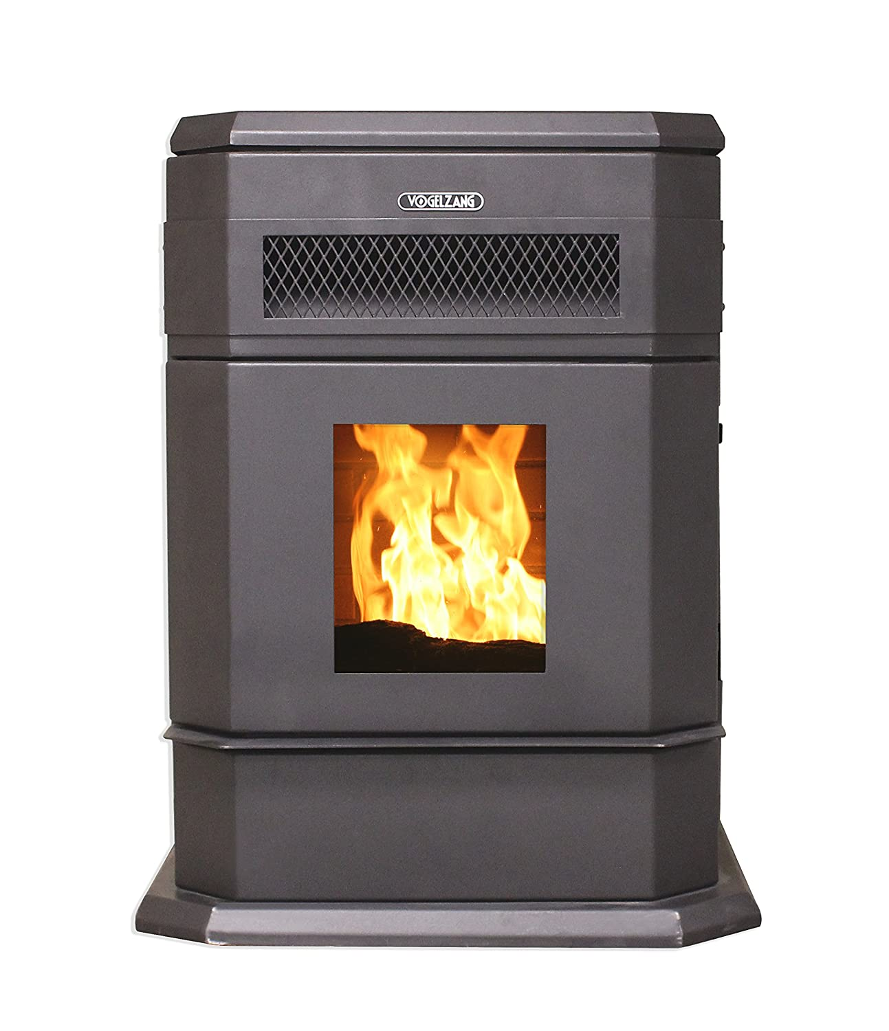 amazon com vogelzang vg5790 hopper pellet stove home u0026 kitchen