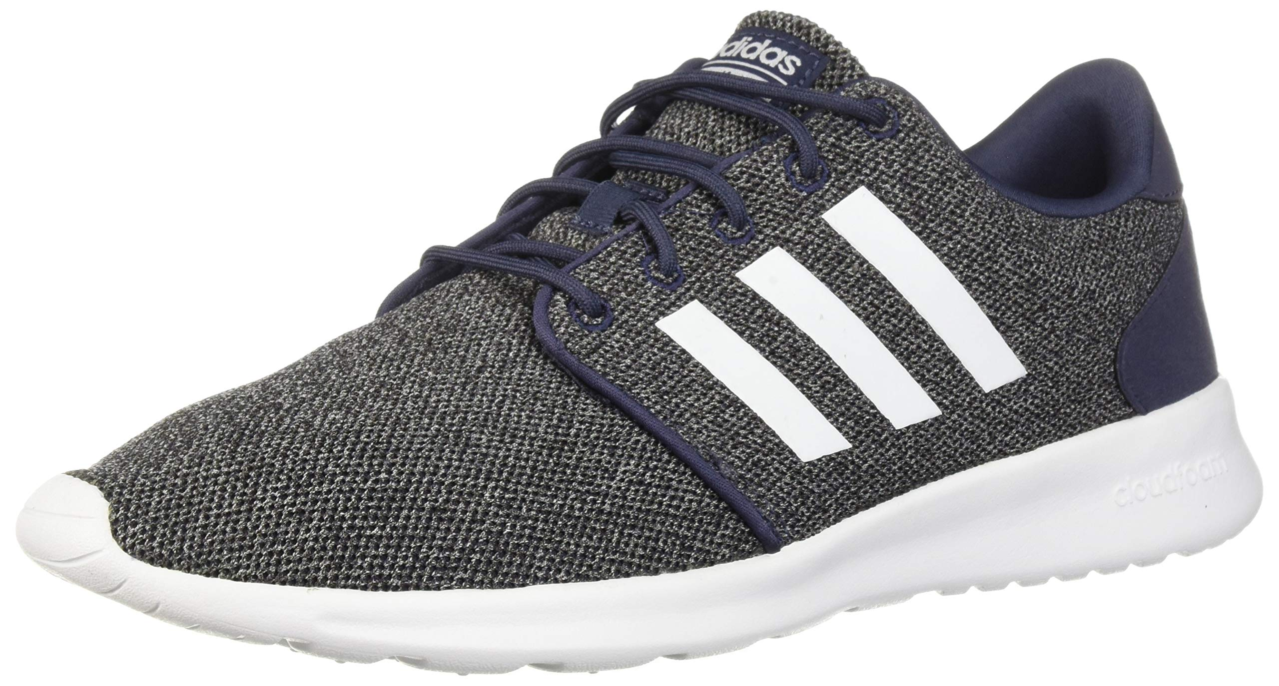 adidas Women's Cloudfoam QT Racer Running Shoe, Trace Blue/White/Black, 6.5 M US by adidas