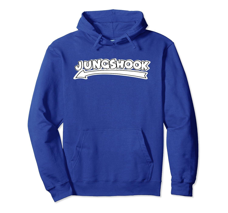 K-Pop Jungshook Kpop Korean Music Hooded Sweatshirt-alottee gift