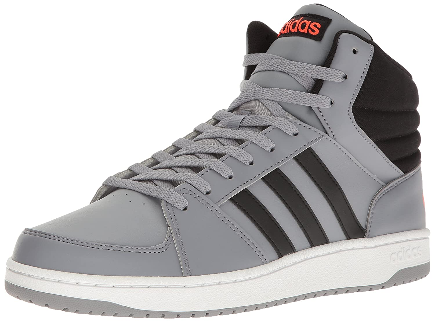 adidas neo hoops vs mid trainers white nz