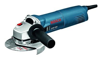 Bosch Professional - Amoladora angular GWS 1000, discos de 125mm de diámetro, 1000W,