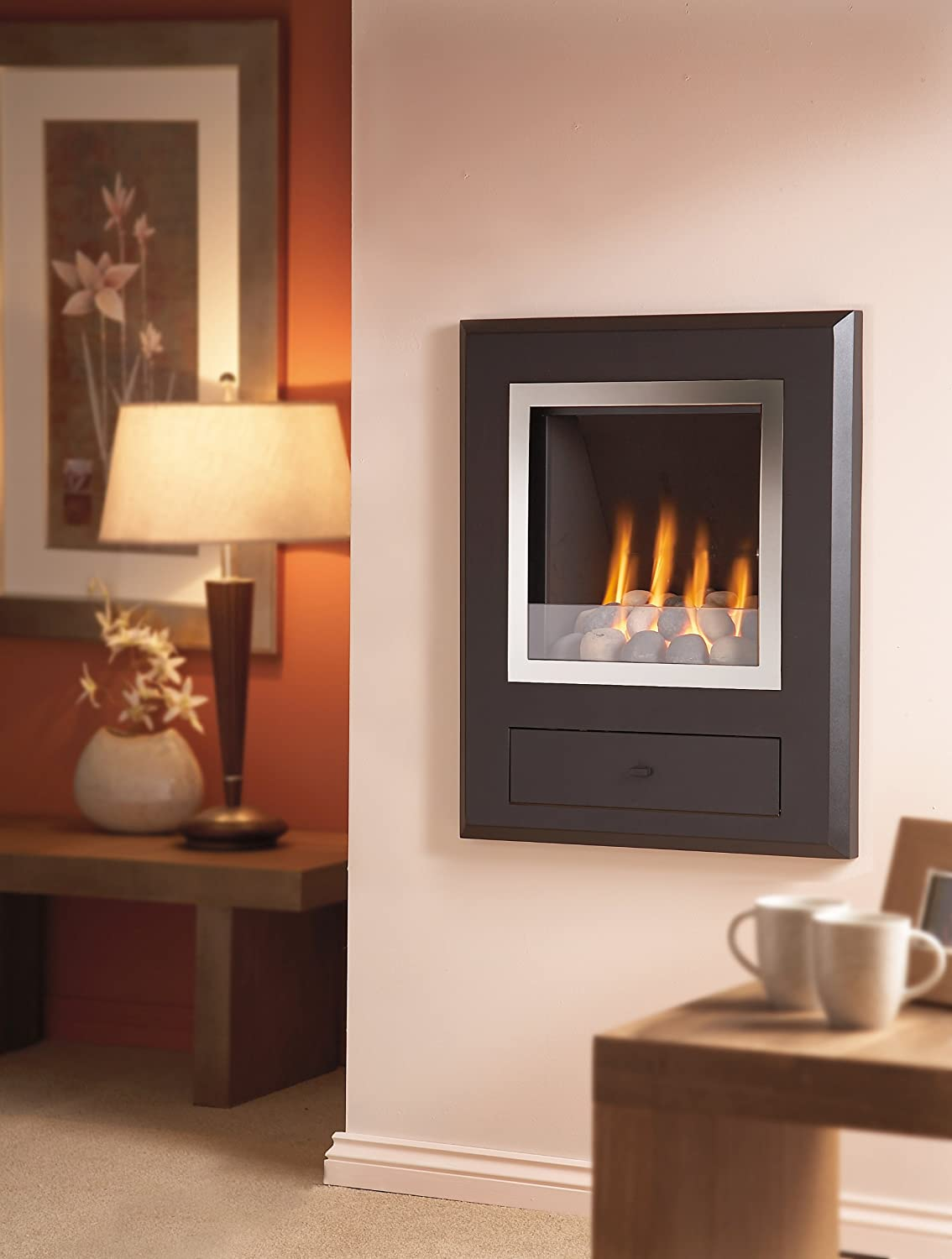 hole in the wall finesse gas fire amazon co uk kitchen u0026 home