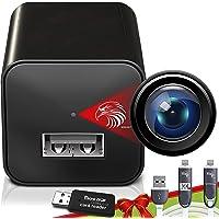 Spy Camera Charger - Hidden Camera - Premium Pack - Mini Spy Camera 1080p - USB Charger Camera - Hidden Spy Camera…