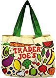 Amazon Com Set 2 Trader Joe S Reusable Shopping Tote