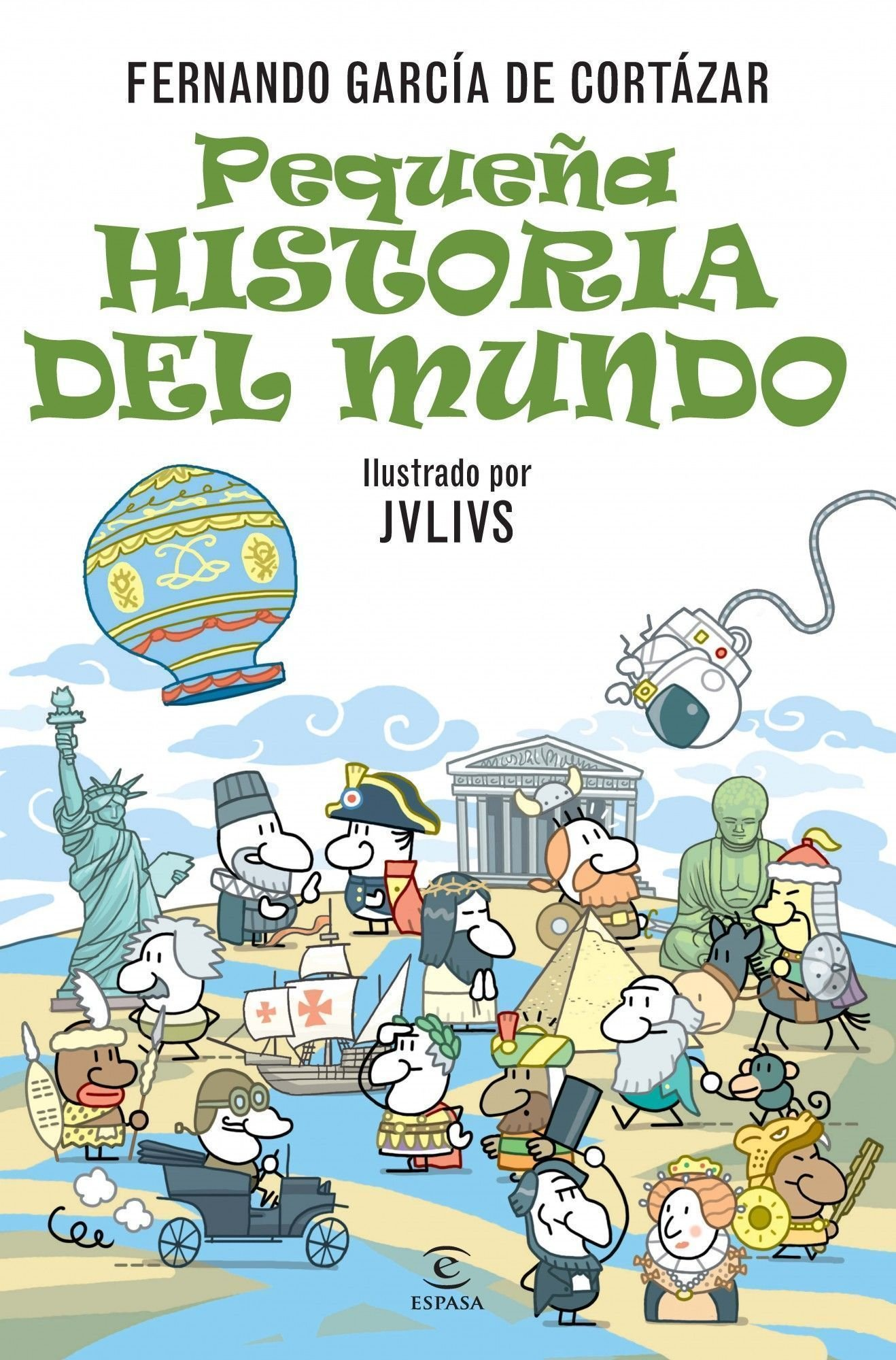 Pequeña historia del Mundo (ESPASA JUVENIL): Amazon.es: García de Cortázar, Fernando: Libros