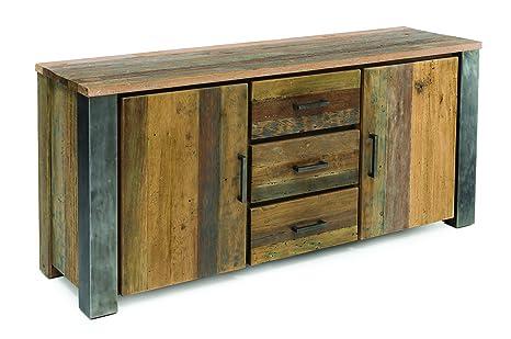 Credenza Industrial Fai Da Te : Rspl buffet credenza stile industrial design legno massello