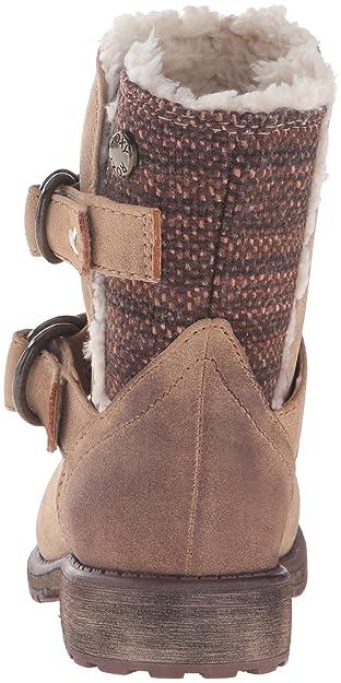 Amazon.com | Roxy RG Cassy Boots Slip-On (Little Kid/Big Kid), Tan, 11 M US Little Kid | Boots