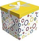 Endless Art US Garnier EZ 礼品盒。 易于组装,无需胶水。 黄色 10X10 BX-106-0737