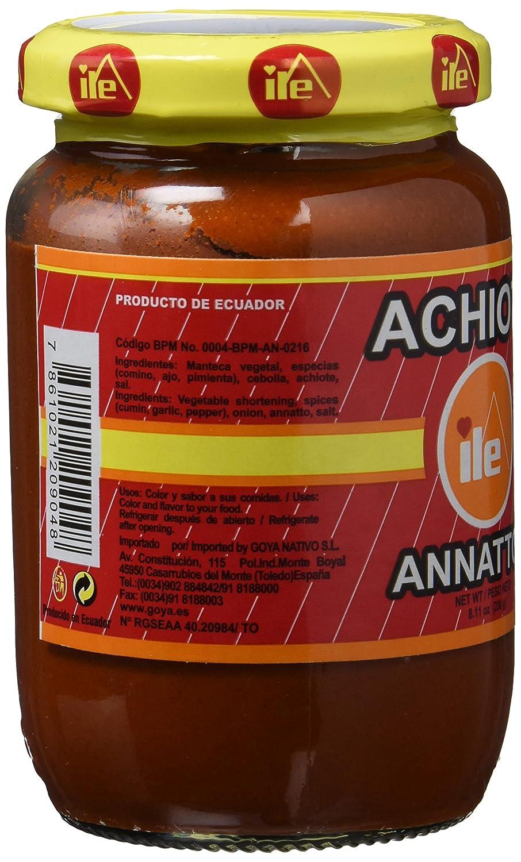 ILE Pasta de Achiote - 12 Paquetes de 230 gr - Total: 2760 gr ...