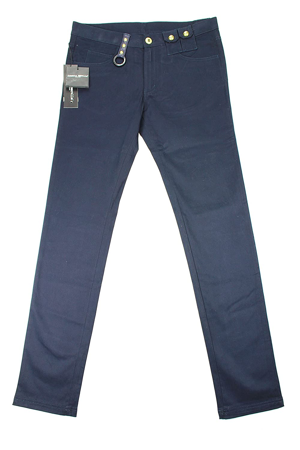 Frankie Morello Mens Slim Fit Jeans Size 32 US Regular Blue Cotton Blend