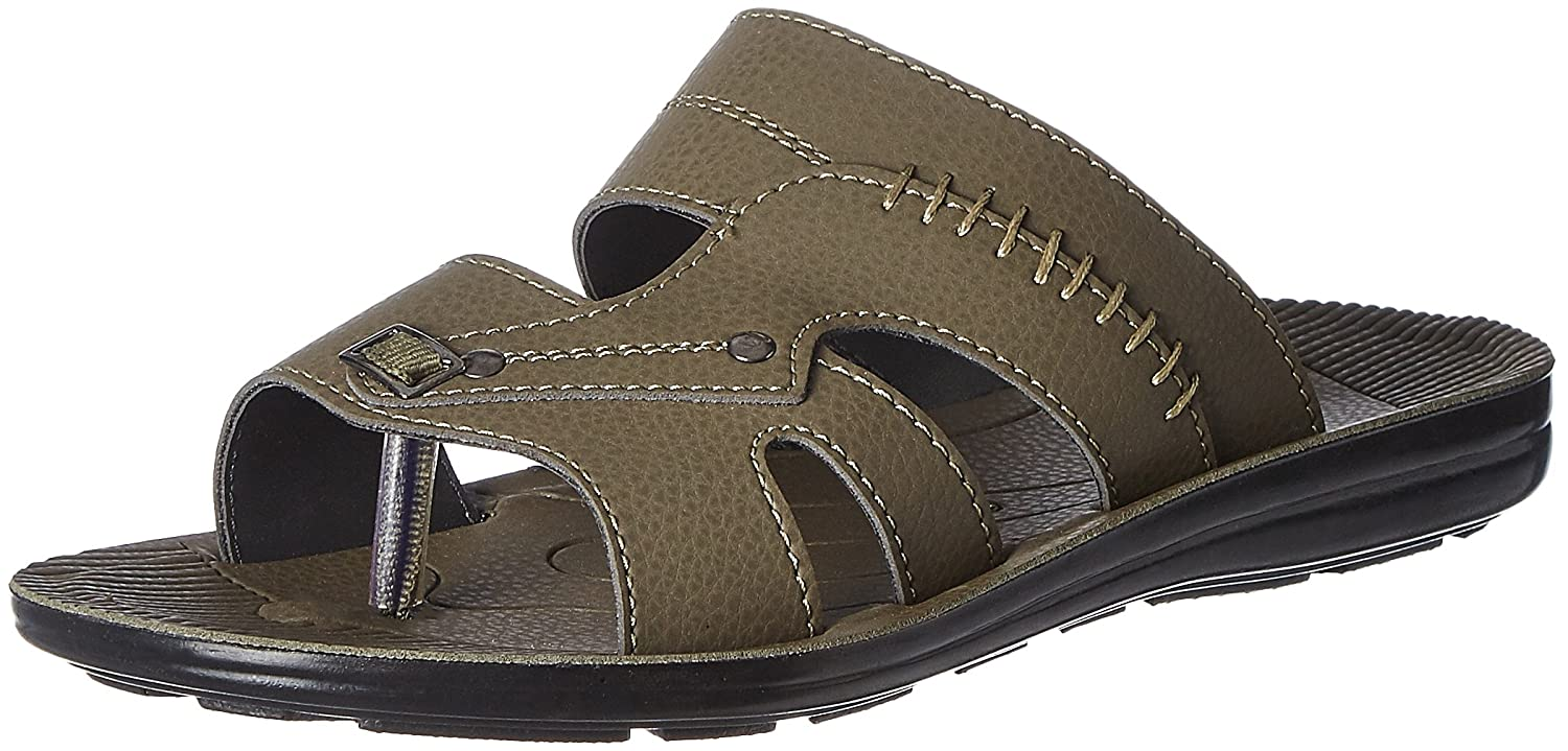 Action Shoes Men's Olive Sandals and