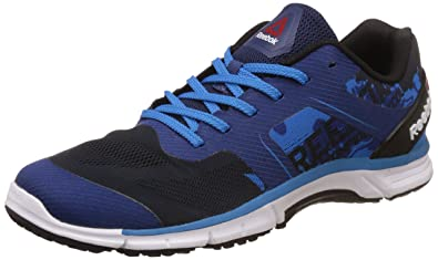 37f950a39f490f Reebok Men's Run Sierra Blk, Blue and Wht Running Shoes - 6 UK/India ...