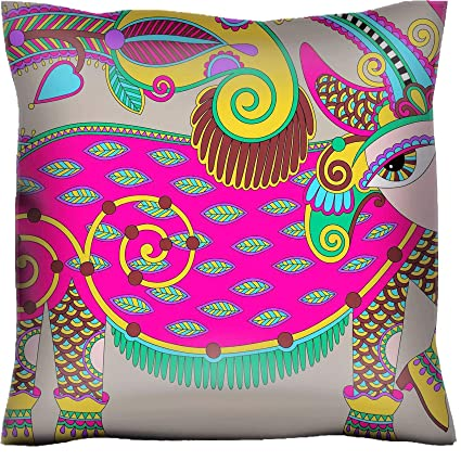 Super Amazon Com Handmade 22X22 Throw Pillow Case Polyester Satin Gmtry Best Dining Table And Chair Ideas Images Gmtryco