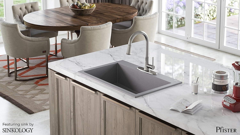 Salle De Bain Pfister ~ pfister g529pfss pfirst series 1 manche pull down robinet de cuisine