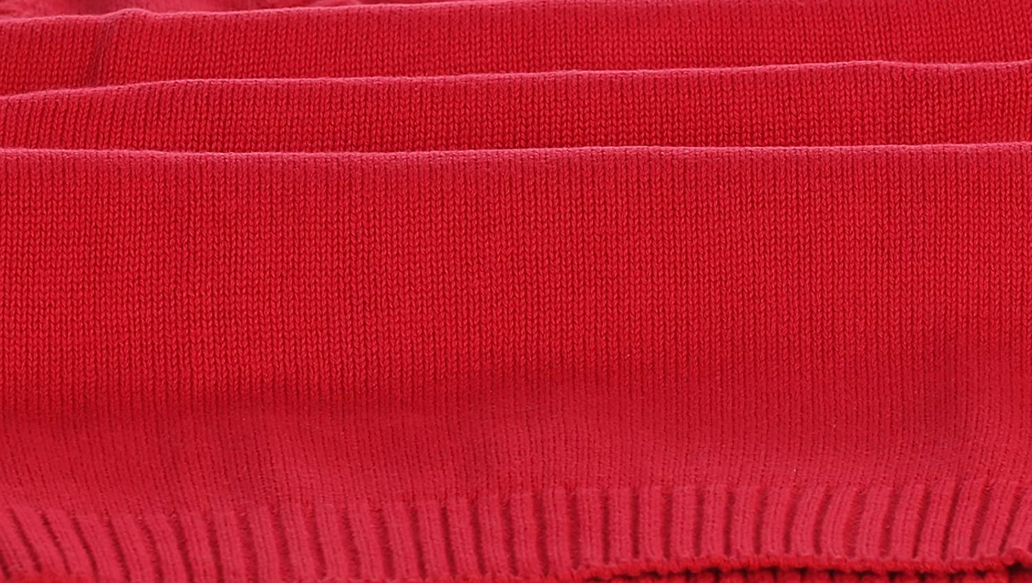 Red Size 12 Gioberti Boys V-Neck Knitted Pullover Sweater Vest