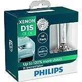 Philips 85415XVS2- Faros delanteros de xenón con bombilla X-tremeVision D1S, pack 2 unidades