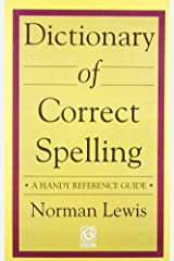 Dictionary of Correct Spelling Paperback