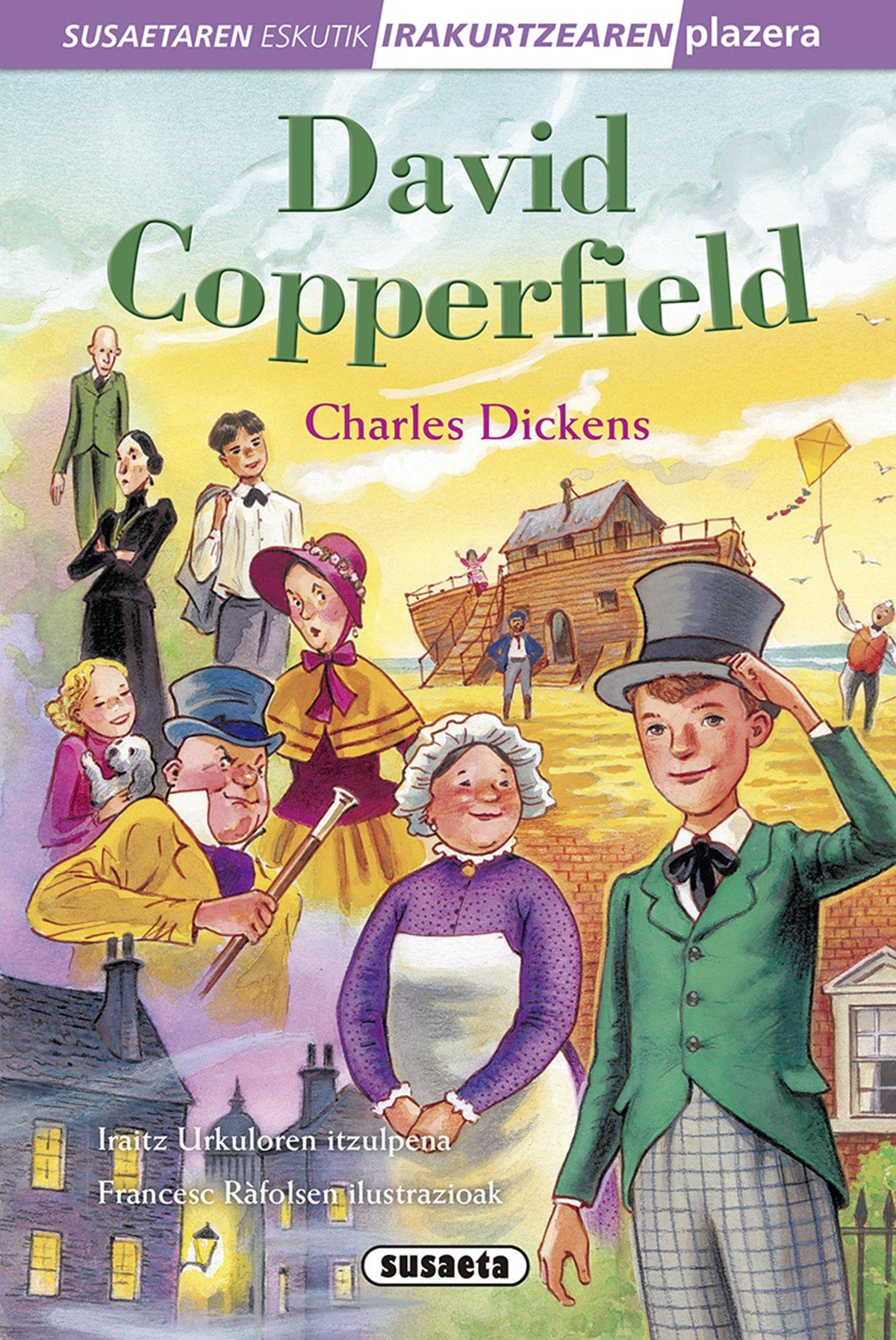 David Copperfield (Susaetaren eskutik irakurri - 4.Maila)