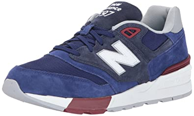 new style 88c1b fb008 New Balance ML597 chaussures navy