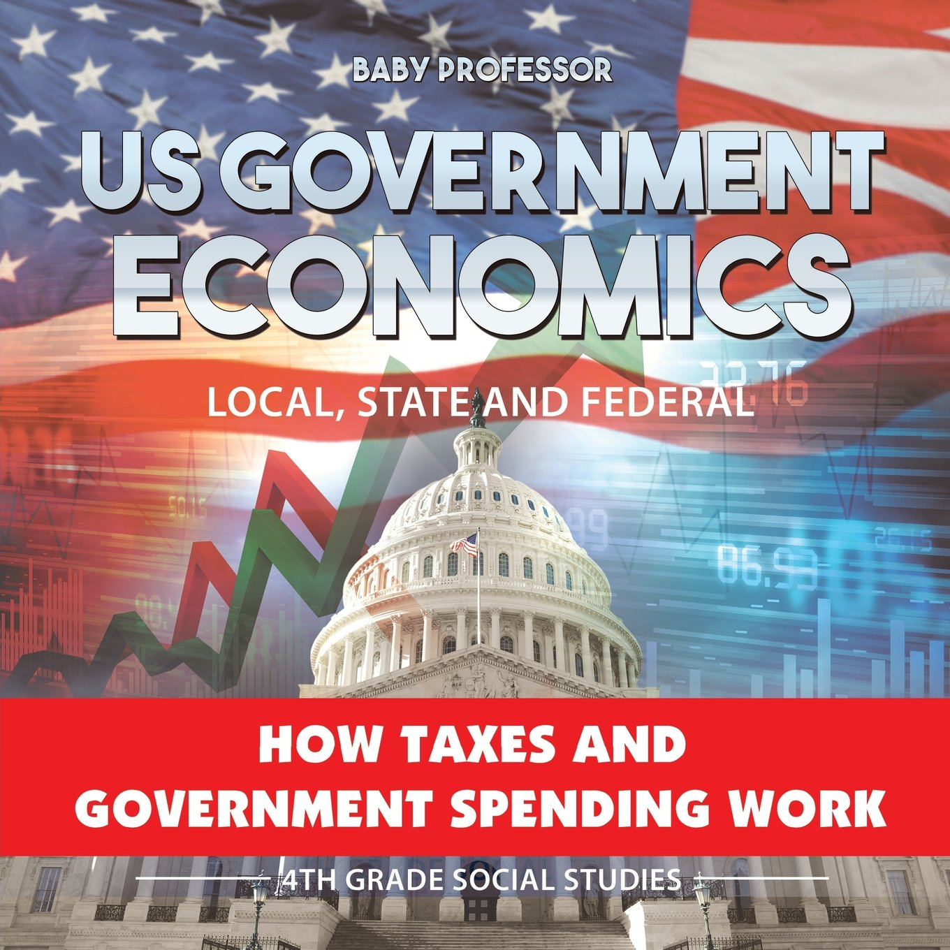 US Government Economics - Local, State and Federal   How Taxes and Government Spending Work   4th Grade Grade Social Studies