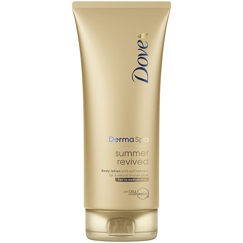Dove DermaSpa Summer Revived Fair to Medium Gradual Self Tan 200ml Unilever 107764588
