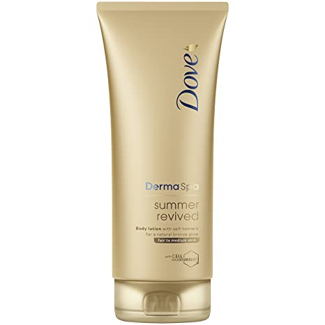 Dove Derma Spa Summer Revived Fair to Medium Skin Body Lotion 200 ml by Dove