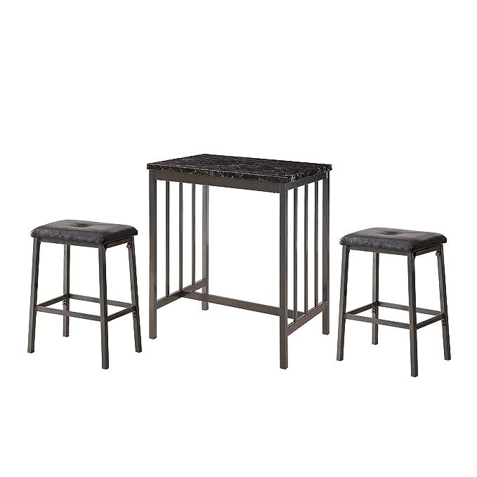 Amazon.com: Acme muebles 72355 3 piezas Venator Set de ...