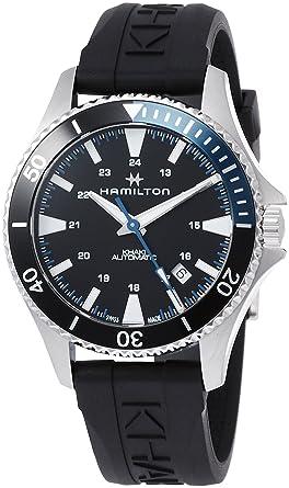 Hamilton H82315331 Khaki Navy Scuba Men S Watch Black 40mm Stainless Steel