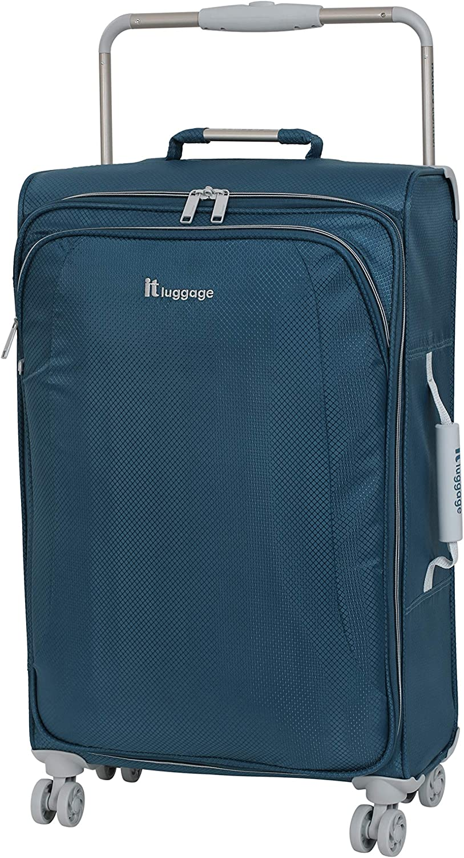 Bleu Cendre - 22-0935i08GLO3N-S360 It Bagage Lot de 3 valises Ultra l/ég/ères New York 8 Roues 80 cm Bleu