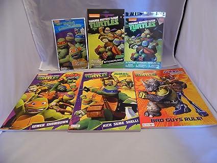 Amazon.com: Teenage Mutant Ninja Turtles Play Pack, Tattoos ...