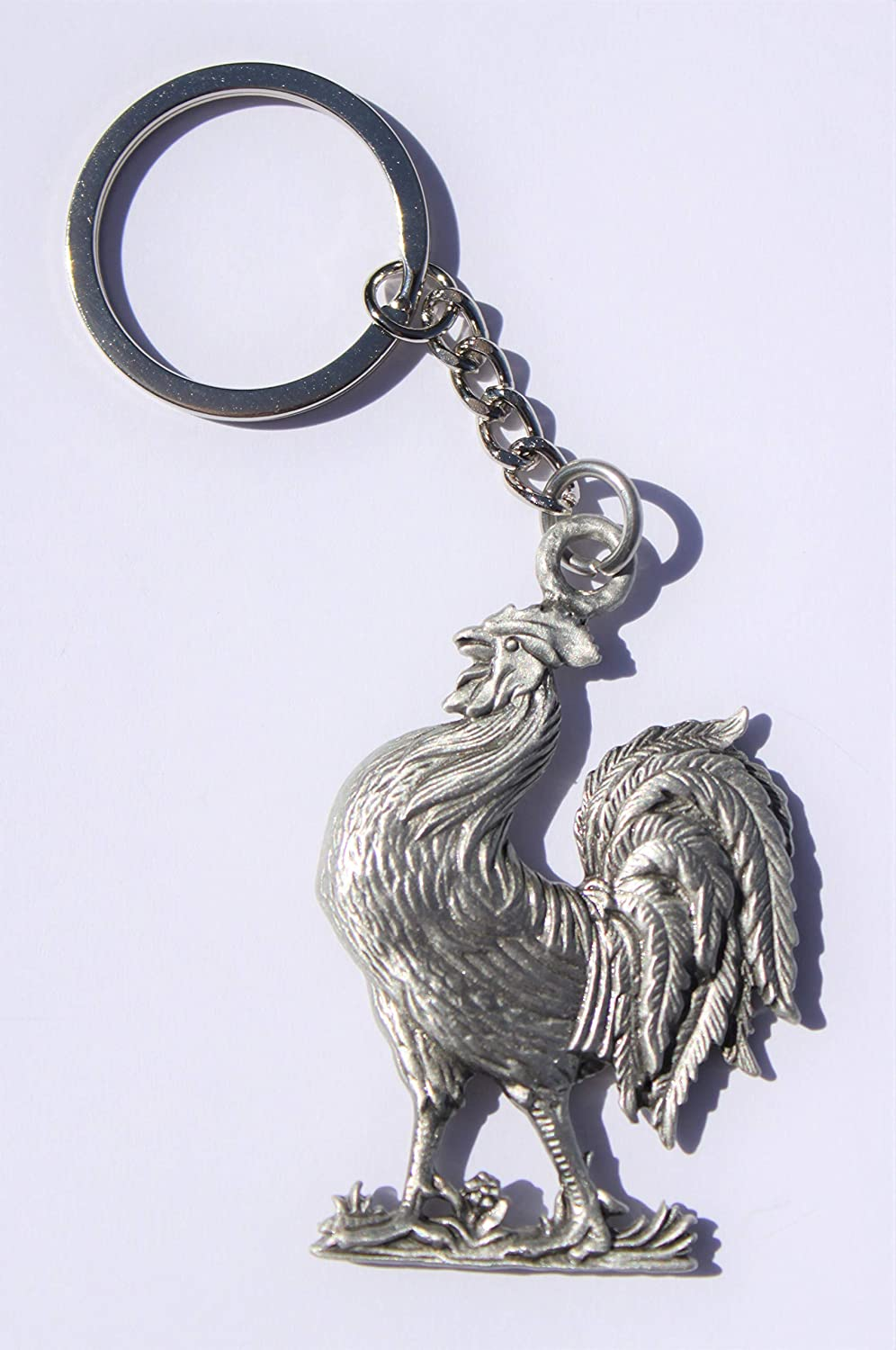 Hastings Pewter Company Lead Free Pewter Peace Sign Keychain hippy style key chain  Made in Michigan made in MI made  gift