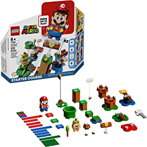 LEGO Super Mario Adventures with Mario Starter Course 71360 Building Kit, Interactive Set Featuring Mario, Bowser Jr. and Goomba Figures, New 2020 (231 Pieces)