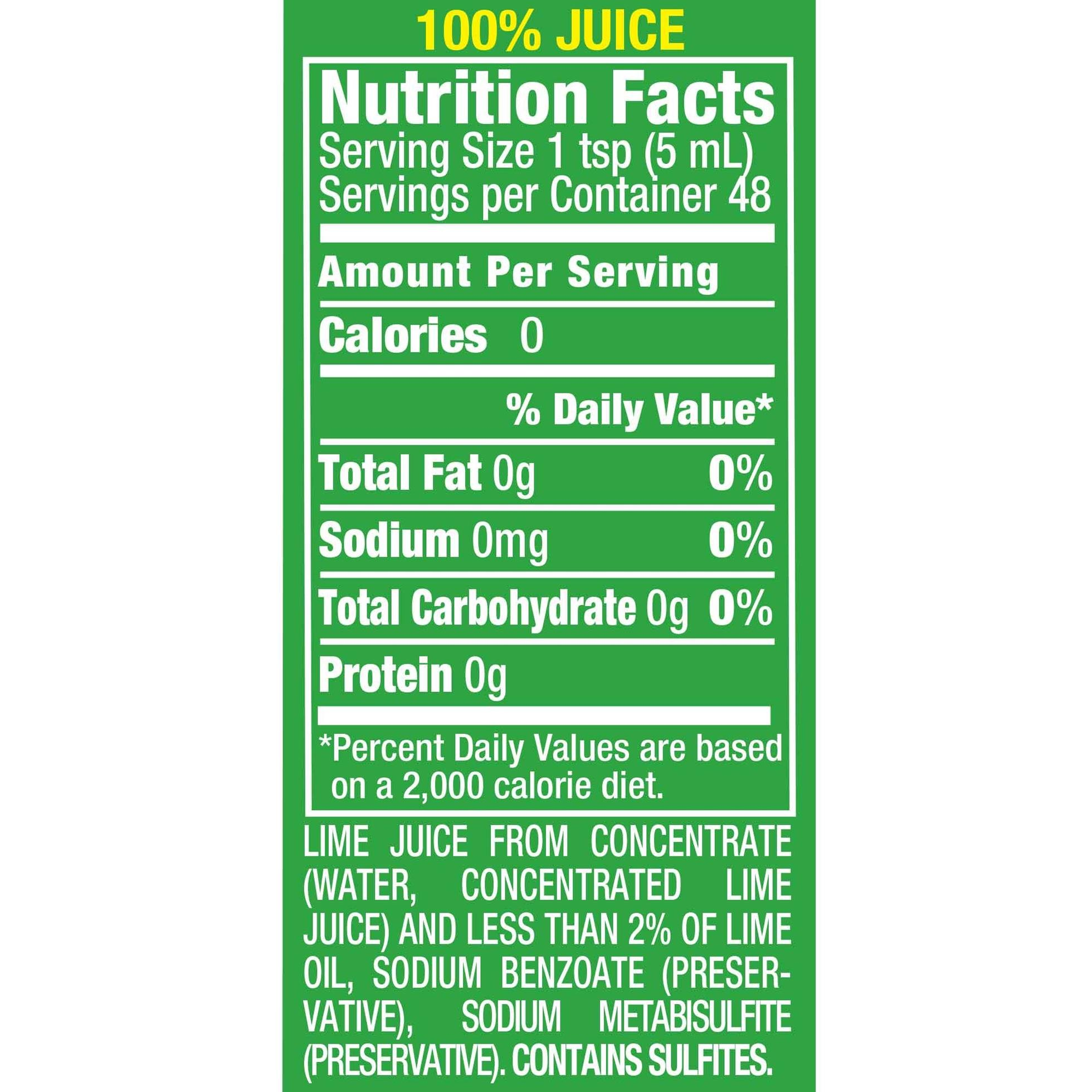 ReaLime 100% Lime Juice, 8 fl oz bottles (Pack of 12) by Realime (Image #5)