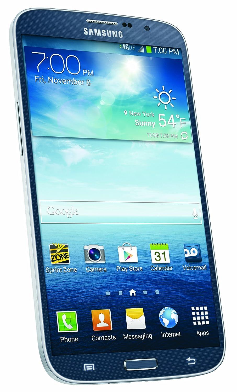 amazon com samsung galaxy mega black 16gb sprint cell phones