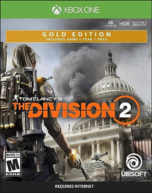 Tom Clancys The Division 2 - Gold Steelbook Edition Xbox One USA: Amazon.es: Ubisoft: Cine y Series TV