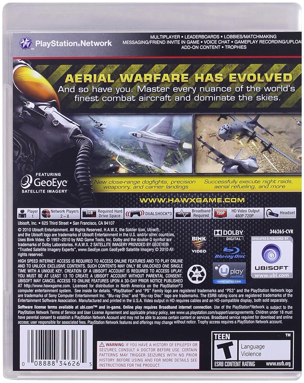 TOM CLANCY'S HAWX 2 - PS3: Amazon com br: Games