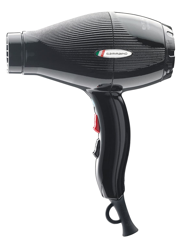 Gamma Piu E-Tc Light - Secador 2100W, color negro: Amazon.es: Salud y cuidado personal
