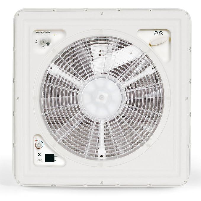 Fiamma Turbo Vent Crystal Manivela claraboya Polar Control con termostato 40 x 40 para caravana o caravana: Amazon.es: Coche y moto
