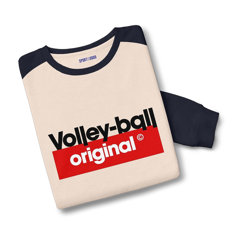 Sport is Good Sweatshirt Bicolore Volley Original