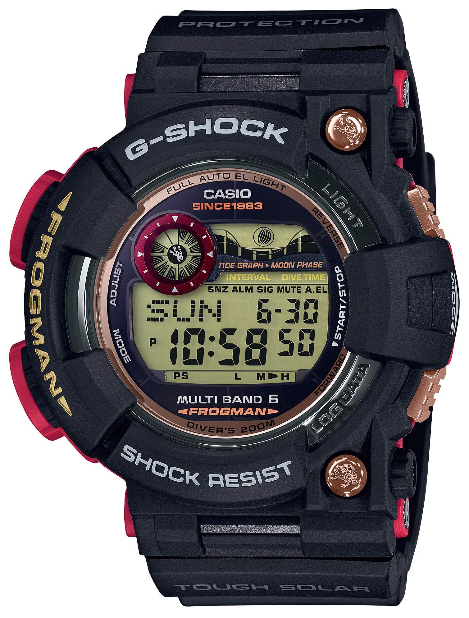 [カシオ]CASIO 腕時計 G-SHOCK ジーショック フロッグマン 35th Anniversary マグマオーシャン 電波ソーラー GWF-1035F-1JR メンズ