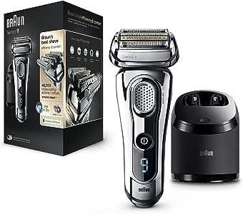 Braun Series 9 9296cc Wet&Dry - Afeitadora Eléctrica para hombre para Barba, Recortadora de Precisión Extraíble ...